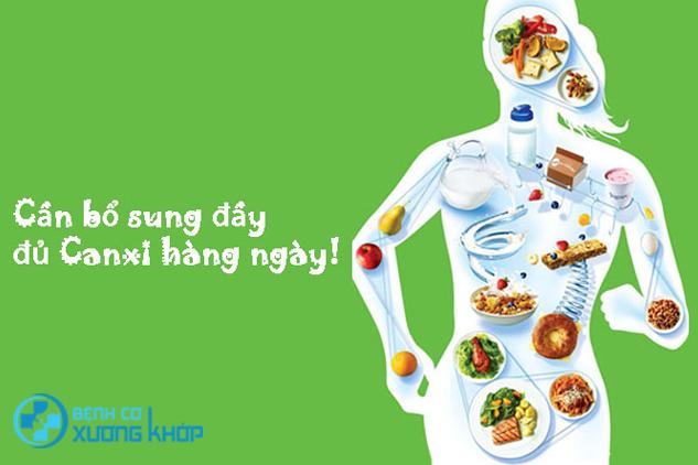 Chế độ dinh dưỡng đóng vai trò quan trọng trong điều trị bệnh loãng xương