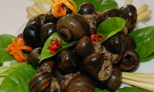 Chữa bệnh từ những món ăn chế biến của ốc