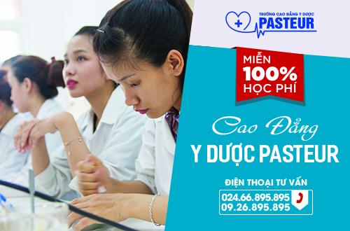 Tuyển sinh Cao đẳng Y Dược Pasteur năm 2017