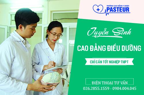 Tuyển sinh Cao đẳng Điều dưỡng Đắk Lắk năm 2017