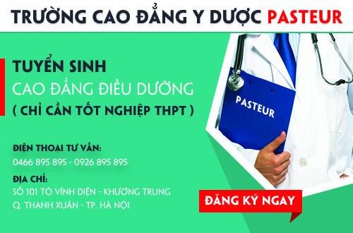 Địa chỉ tuyển sinh Cao đẳng Điều dưỡng - Trường Cao đẳng Y Dược Pasteur