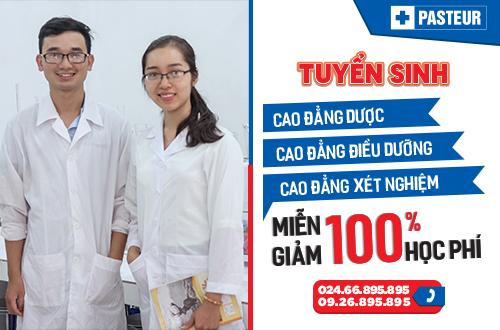 Trường Cao đẳng Y Dược Pasteur đào tạo Y Dược chất lượng cho ngành Y tế