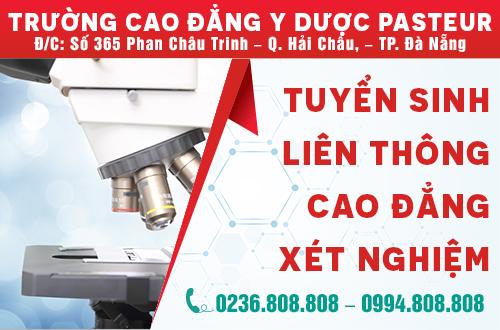 Địa chỉ đào tạo Cao đẳng Xét Nghiệm chất lượng tại Đà Nẵng