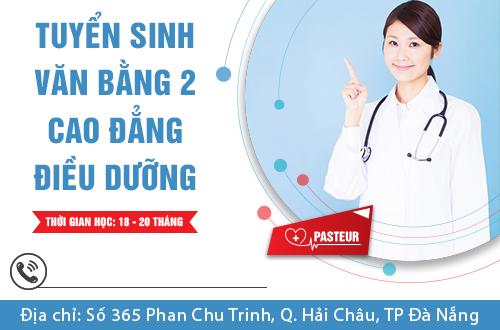 Địa chỉ nộp hồ sơ học Văn bằng 2 Cao đẳng Điều dưỡng tại Đà Nẵng