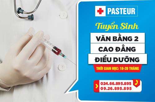 Trường Cao đẳng Y Dược Pasteur là địa chỉ đào tạo ngành Y Dược uy tín