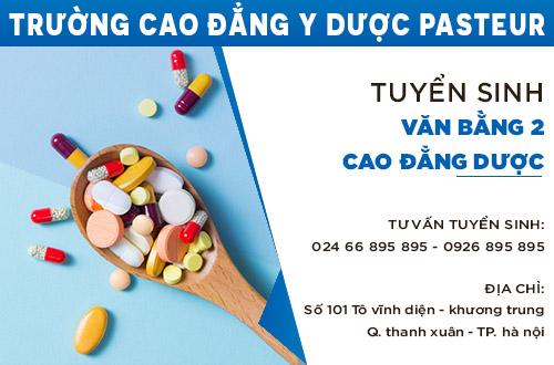 Địa chỉ tuyển sinh văn bằng 2 Cao đẳng Dược học tại Hà Nội