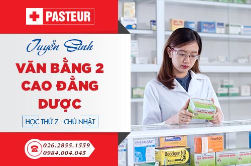 Trường Cao đẳng Y Dược Pasteur đào tạo Văn bằng 2 Cao đẳng Dược