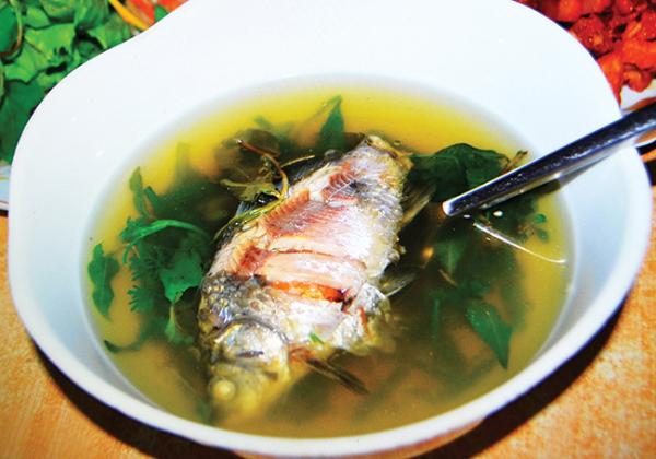 Dược thiện bổ dưỡng từ cá diếc