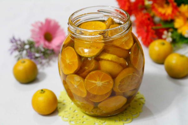 Nhiều món ăn bài thuốc hữu dụng từ chanh