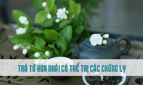 Hoa nhài có thể dùng thay trà