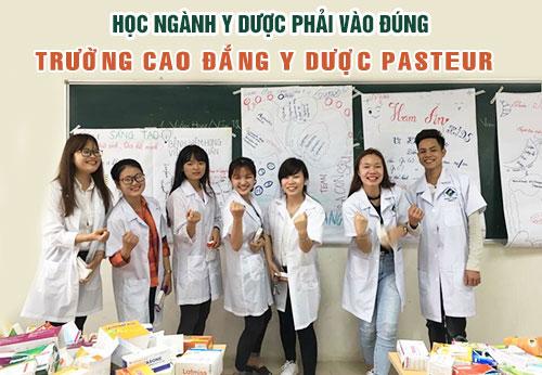 Trường Cao đẳng Y dược Pasteur, địa chỉ đào tạo uy tín trong ngành Y dược