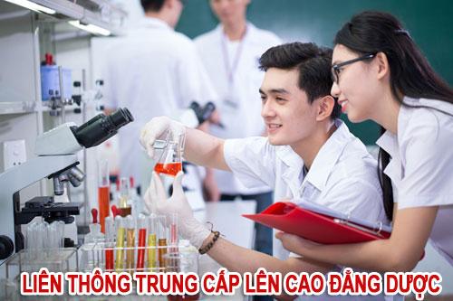 Đào tạo liên thông từ Trung cấp lên Cao đẳng Dược