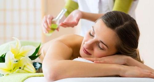 Dầu massage cho cơ thể