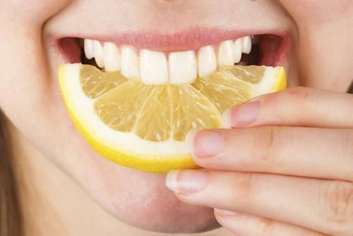 nguyên liệu thiên nhiên làm trắng răng