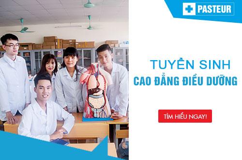 Tuyển sinh Cao đẳng Điều dưỡng TPHCM năm 2018 chỉ cần tốt nghiệp THPT