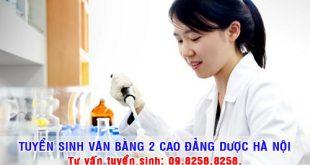 Địa chỉ uy tín đào tạo Văn bằng 2 Cao đẳng Dược ở Hà Nội